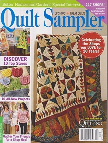 Garden Quilt Sampler - Better Homes and Gardens Quilt Sampler Magazine Spring/Summer 2015