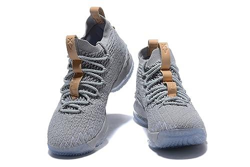 promo code 15bee 90b50 bashy fashion 2018 Nike Lebron XV Ghost- Basketball Shoes ...