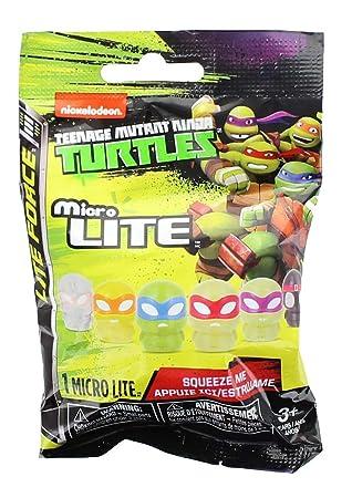 TMNT Teenage Mutant Ninja Turtles Micro Lites Miniature ...