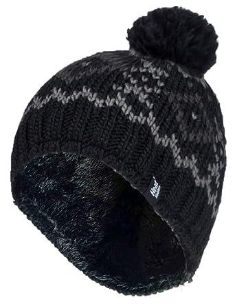 Mens Heat Holder Heatweaver Thermal Winter Warm Hat 4 BRAND NEW DESIGNS