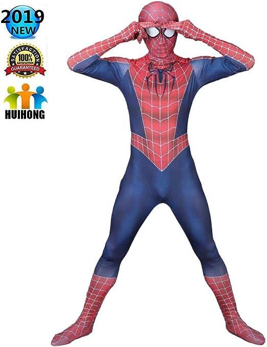 HUIHONG Estilo Clásico Spiderman Tobey Cosplay Disfraz Disfraz ...