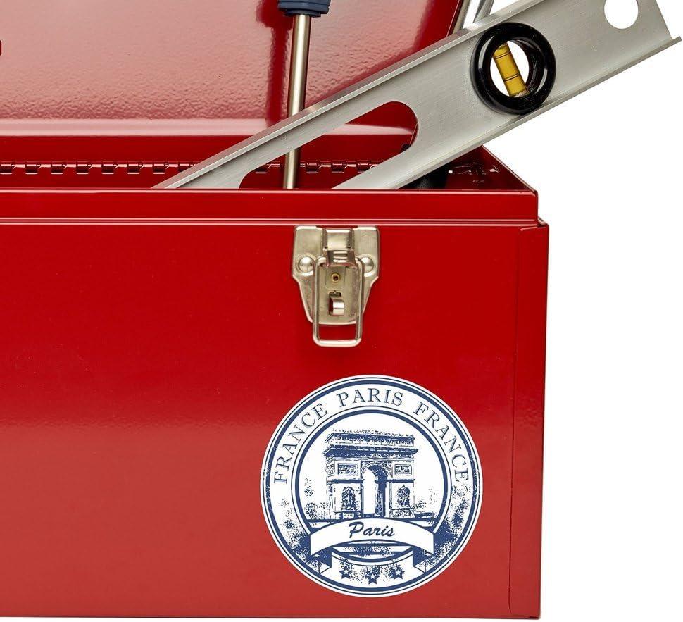 2 x Paris Arc de Triomphe France Vinyl Sticker Laptop Travel Luggage Car #5926