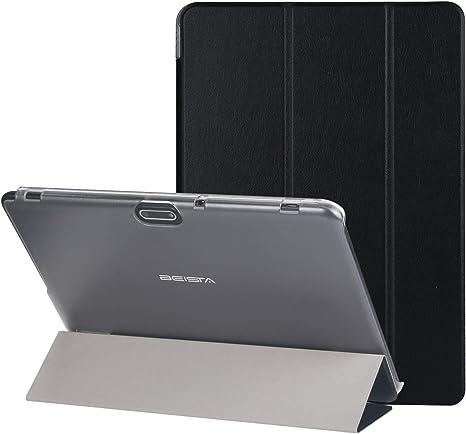 BEISTA Cover Custodia Protettiva Case Universale in Pelle PU Adatto per LNMBBS Tablet 10 Pollici,YOTOPT Tablet 10.1 Pollici 10 Pollici Tablet-Nero: Amazon.es: Electrónica