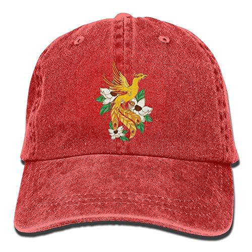 Male's Women's Baseball Hat,Phoenix In Lotuses Jean Hat For Man Woman - Airport In Shops Phoenix