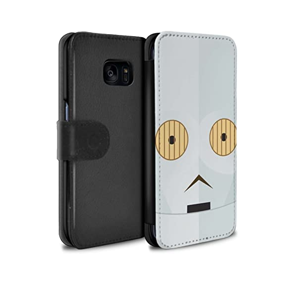 Amazon com: STUFF4 PU Leather Wallet Flip Case/Cover for Samsung