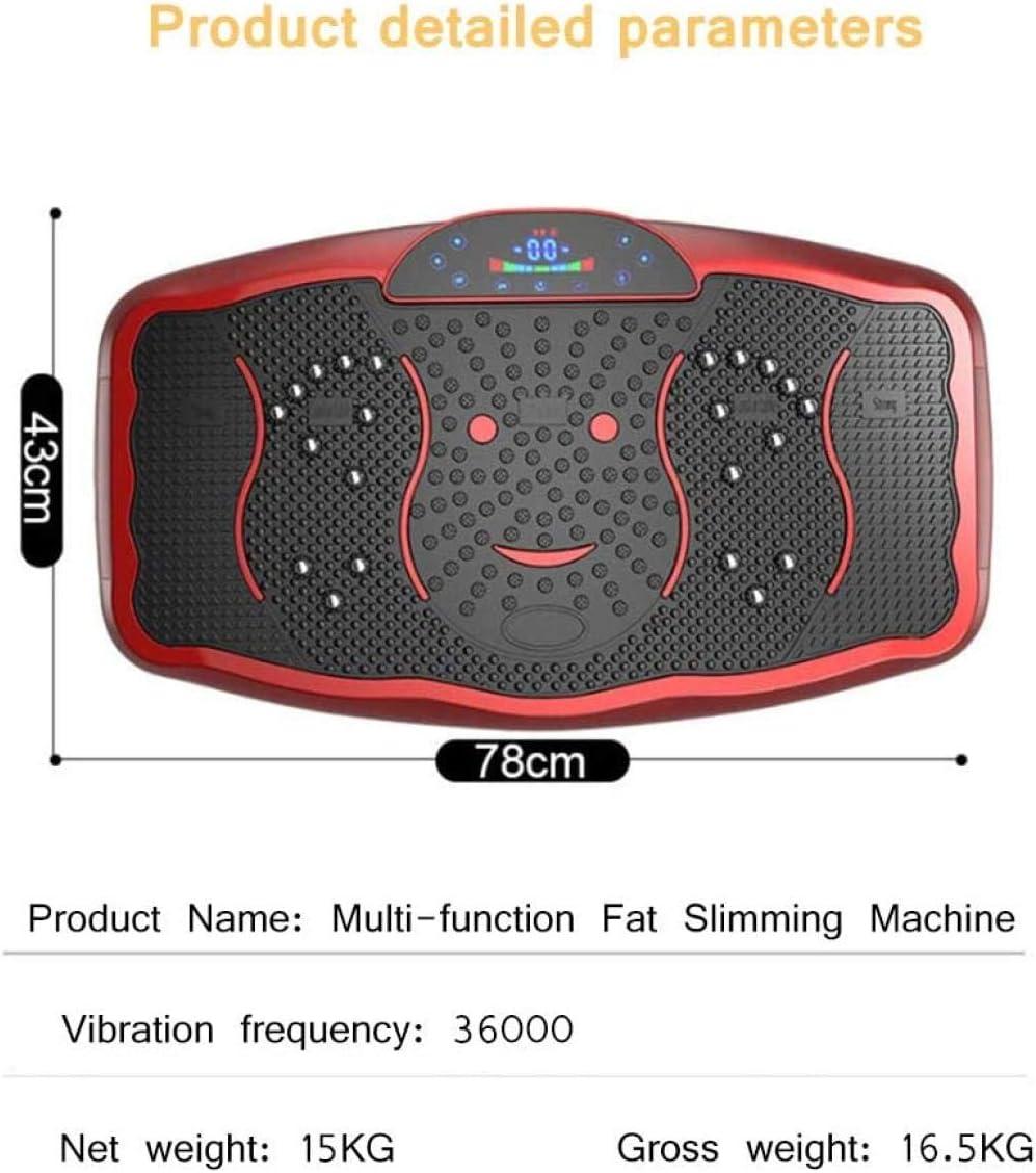 YQM Vibration Platform Efficient Fat Burning 150Kg Load Bearing Magnetic Therapy Massage Timing Adjustment