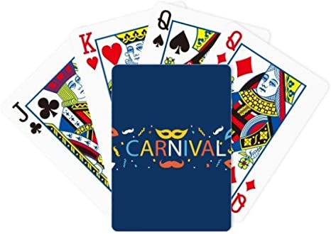 DIYthinker Máscara de Barba, Feliz Carnaval de Venecia, póquer, Juego de Cartas de Mesa, Juego de Mesa de Regalo: Amazon.es: Deportes y aire libre