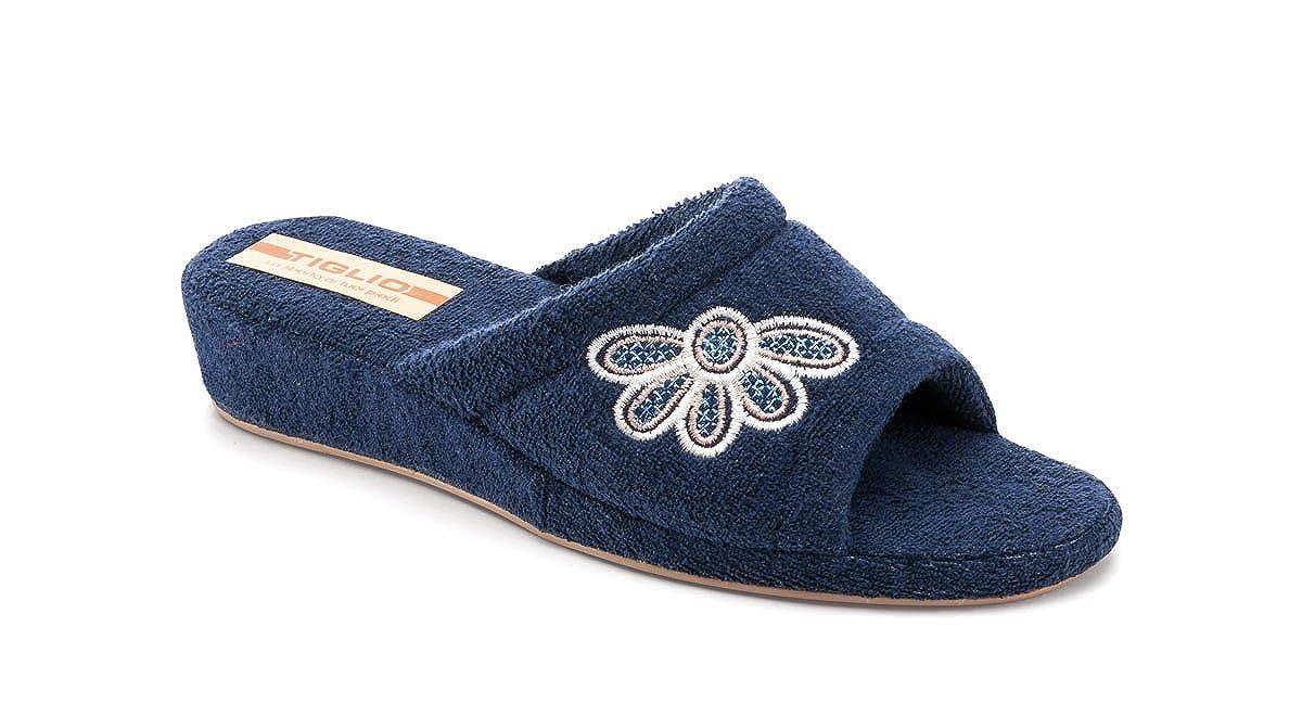tiglio Pantofole Ciabatte Donna 1896 Blu AI Carboni Attivi - - - b362e0