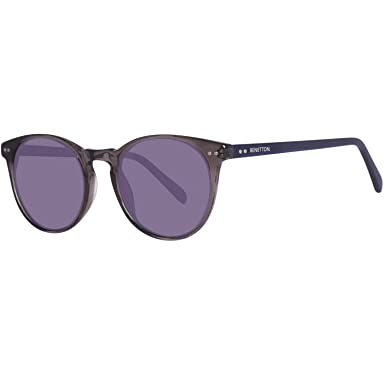 United Colors of Benetton BENETTON Unisex-Erwachsene Sonnenbrille BE995S04, Grau (Grey/Blue), 50