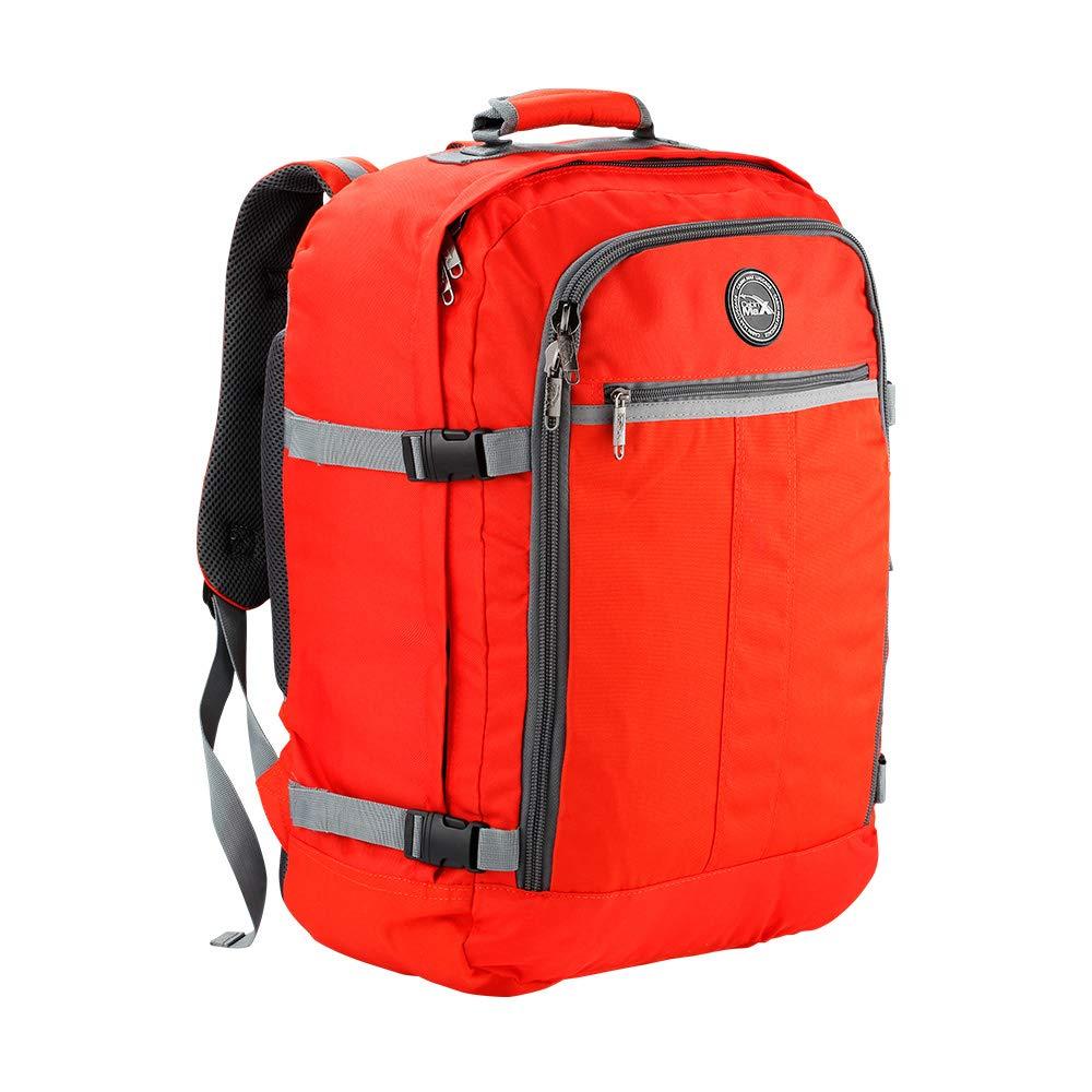 Bolsa de Viaje Cabin Max aprobada para Viajar en Cabina como Equipaje de Mano, Dimensiones: 55x40x20 cm (Naranja)