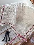 Organic Cotton Hand-crocheted Baby Blanket
