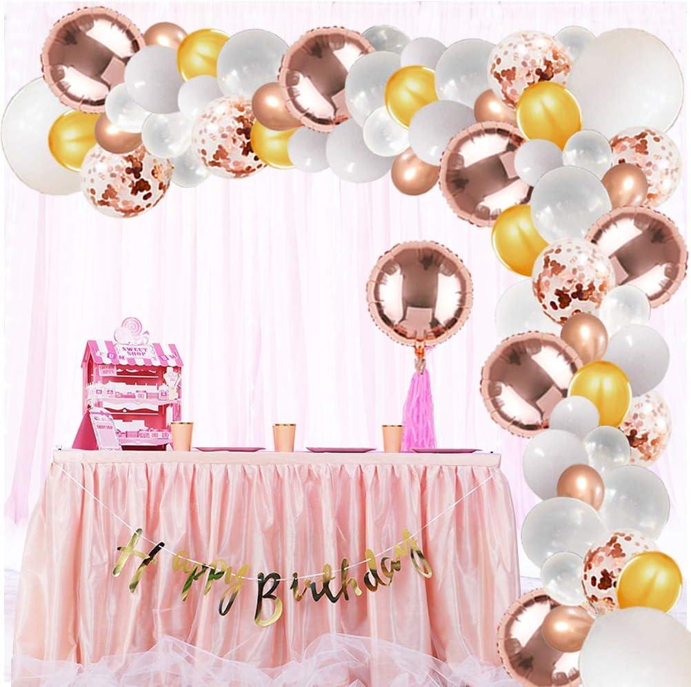 Rose Gold Balloon Rose Gold Balloons Rose Gold Foil Round Balloon 18 Rose Gold Party Decoration baby shower balloon wedding decor