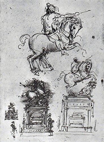Leonardo da Vinci - Leonardos horse Study - Royal Collection Trust UK - Windsor Castle 30