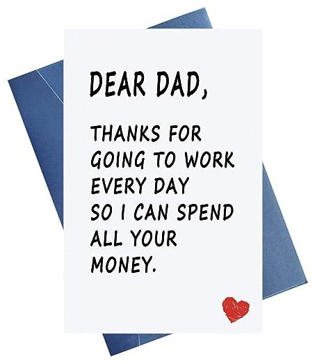 Amazon.com: Tarjetas de felicitación para el día del padre ...
