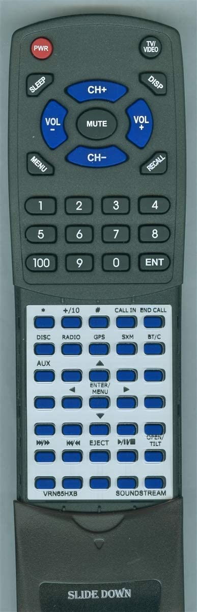 Replacement Remote for Soundstream VRN65HXB