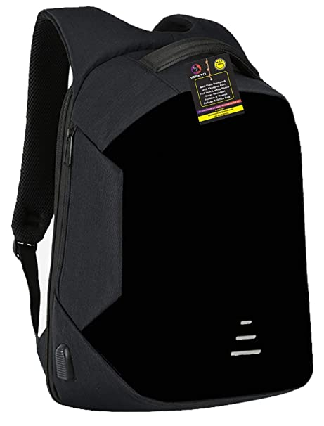 """Waterproof 15.6/"""" Inch Laptop Tablet Backpack With USB Charging Travel Handle Bag"""