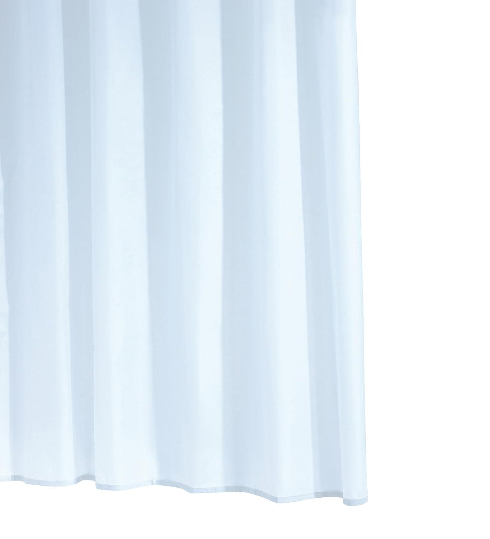 Ridder 311110-350 - Tenda da doccia con anelli per appenderla, 120 x 200 cm, colore: Bianco Ridder GmbH 31111S-350