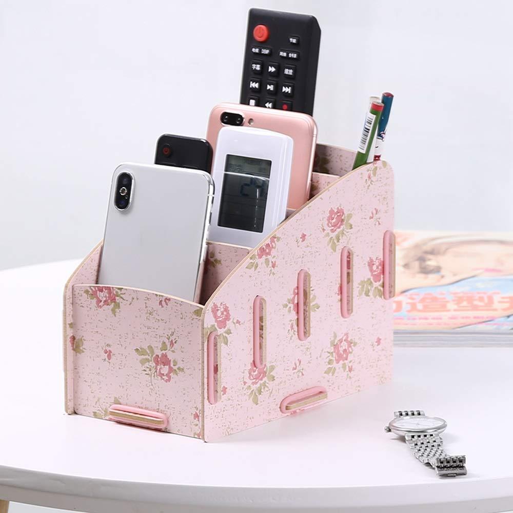 GaoJinZhuan TV-Fernbedienung Aufbewahrungsbox Nordic Home Wohnzimmer Kreative Desktop-Aufbewahrungsbox Multifunktions-Handy-Aufbewahrungsbox (Farbe   Weiß Maple) B07LBB1Y95 | Elegante und robuste Verpackung