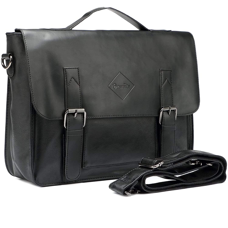 Authoritative message Vintage laptop briefcase can