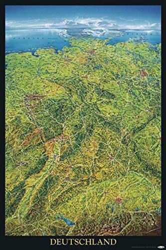 Amazon De Close Up Deutschland Poster Geographische Panorama