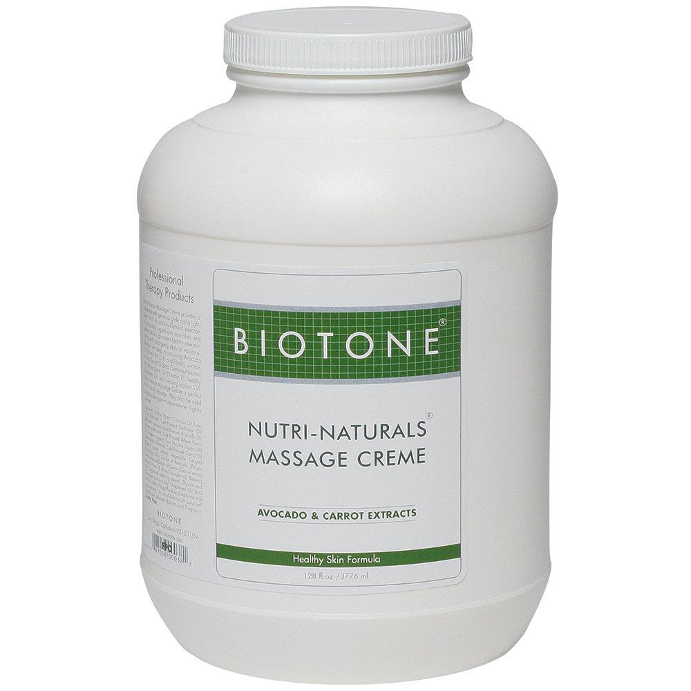 Biotone Nutri Naturals Massage Cream, 128 Ounce