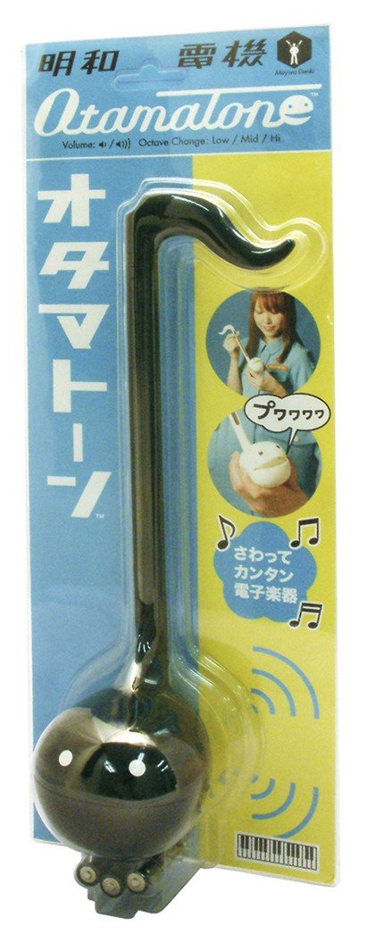 Otamatone [Japanese Edition] Japanese Electronic Musical Instrument Synthesizer by Cube / Maywa Denki, Black by Otamatone