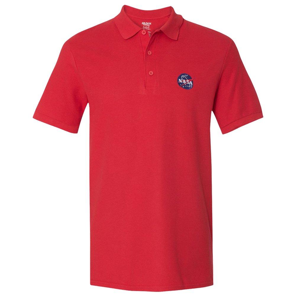 Men's NASA Insignia Embroidered Premium 100% Cotton Shirt - S to 5XL