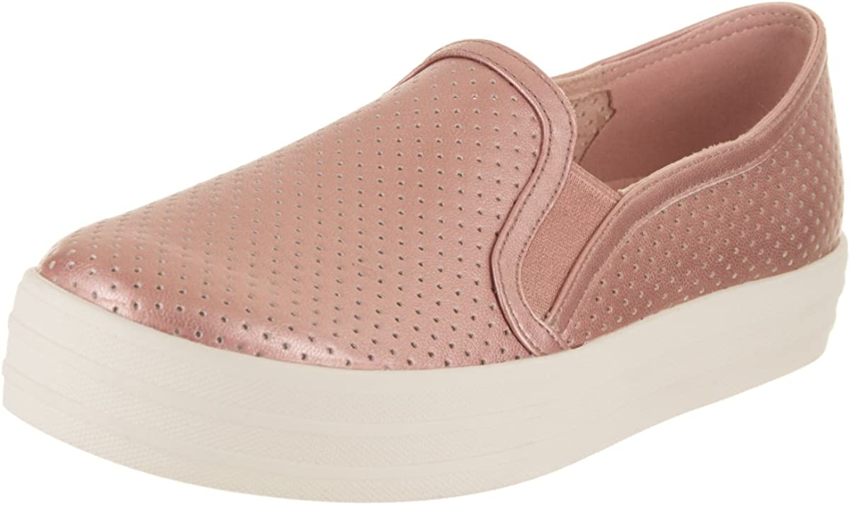 Metallic Breeze Rose Gold Slip-On Shoe