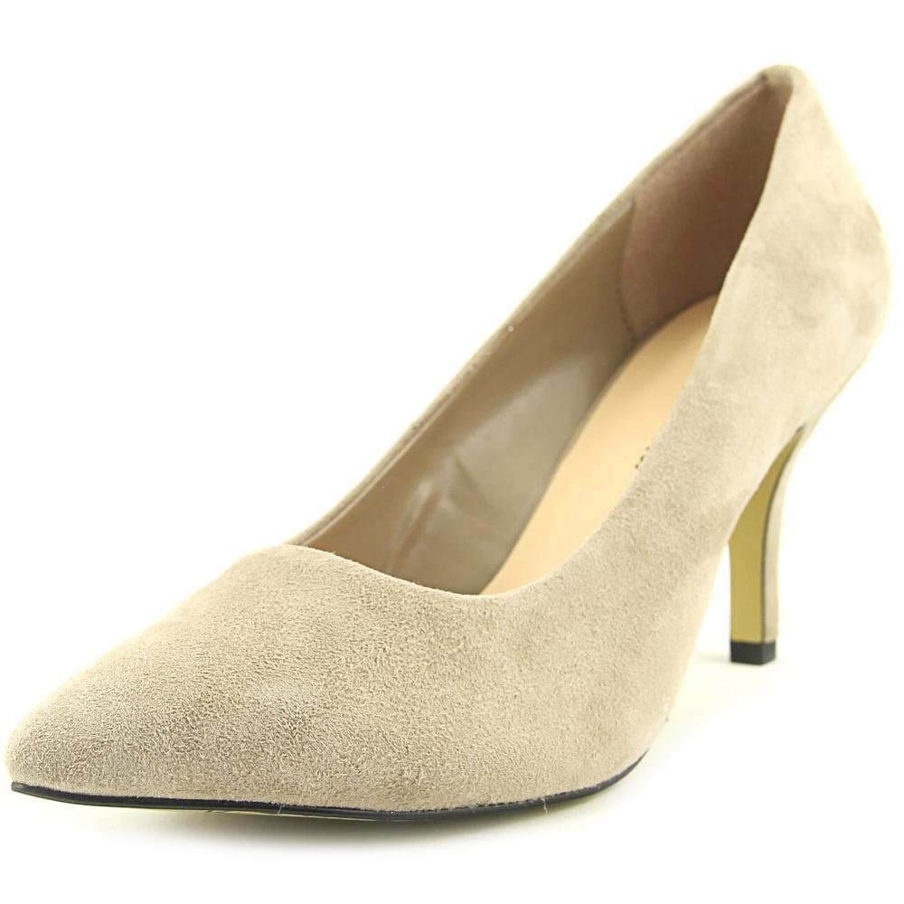 Bella Vita Women's Define Dress Pump B01JGXHYMI 12 XW US|Almond Kid Suede