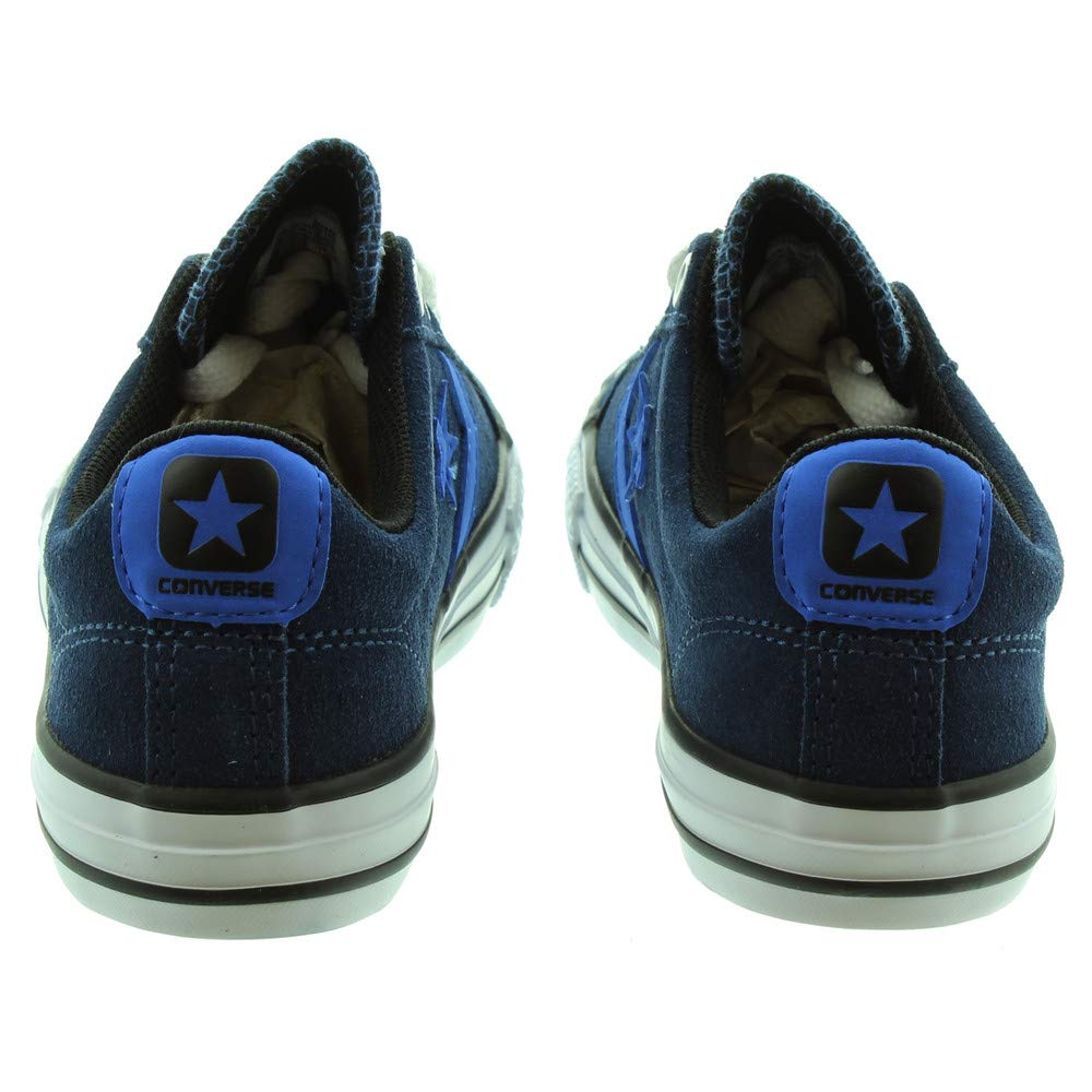 Converse Kids Star Player EV Ox Navy Suede Trainers 13.5 US