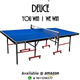 Deuce Table Tennis Tables - Made Using World's Best Quality Table Tennis Table Top