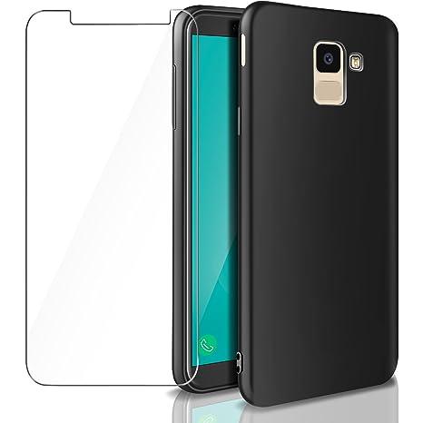 Aroyi - Carcasa Samsung Galaxy J6 2018 + Vidrio Templado ...