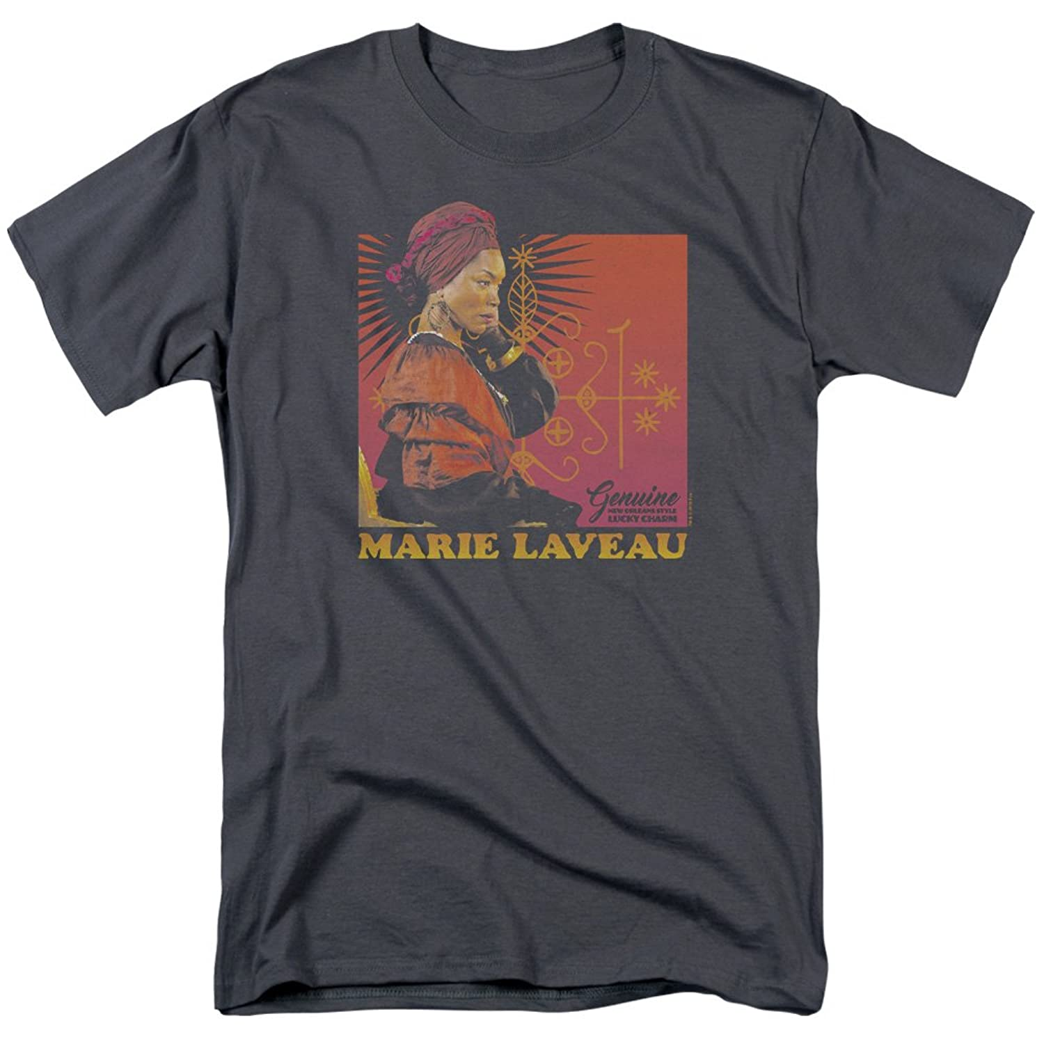 American Horror Story TV Horror Show Marie Laveau Lucky Charm Adult T-Shirt Tee