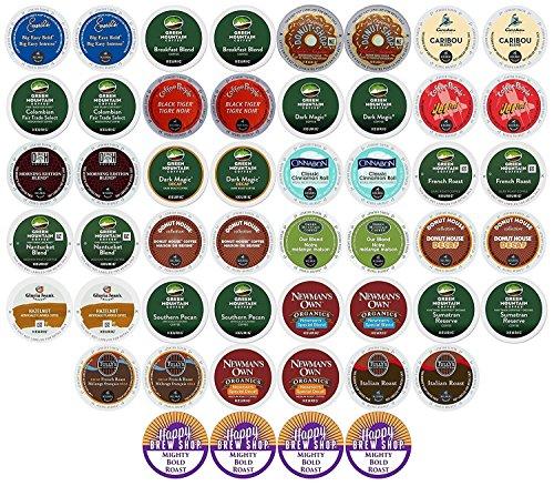 50 count Variety Sampler Pack Single Serve