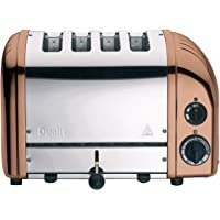 Dualit 47450 Classic Toaster, Copper/Stainless Steel