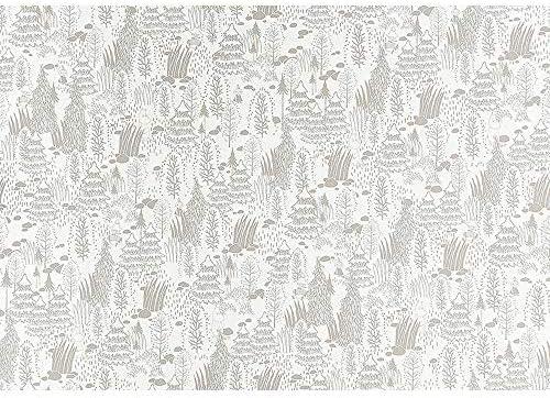 サンゲツ ファイン 壁紙 (クロス) 糊なし/のり無し (FE6306) 【1m×注文数】 巾92cm   北欧 ムーミン MOOMIN MOMI