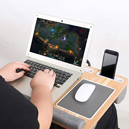 Goodtimera Lap Desk - Alfombrilla para ratón y muñeca para ...