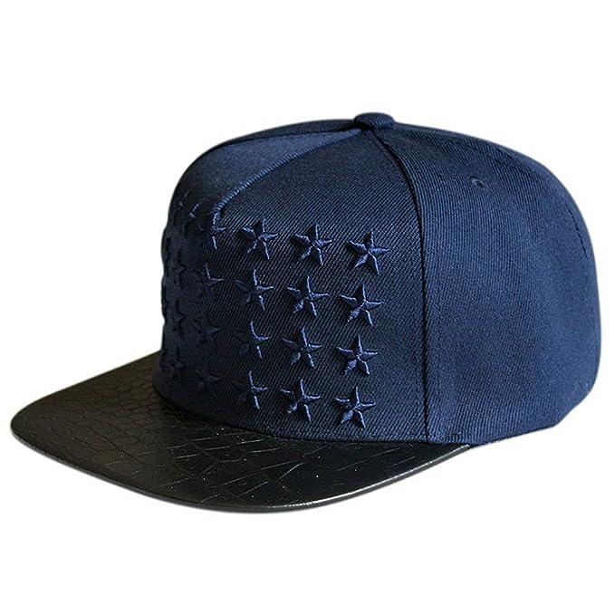 LOCOMO Hats - Gorra de béisbol Azul Azul  Amazon.es  Ropa y accesorios 5a0281eb38a