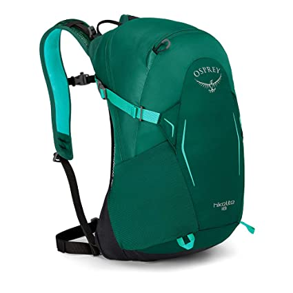 9163ad02c095 Amazon.com : Osprey Packs Hikelite 18 Backpack, Aloe Green, One Size ...
