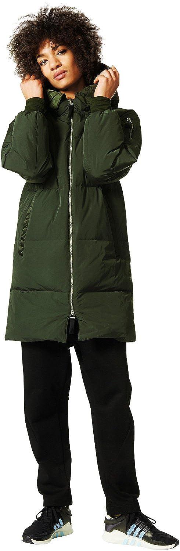 adidas Damen Jacken   Winterjacke Long Bomber grün 38  Amazon.de  Bekleidung 9240135634
