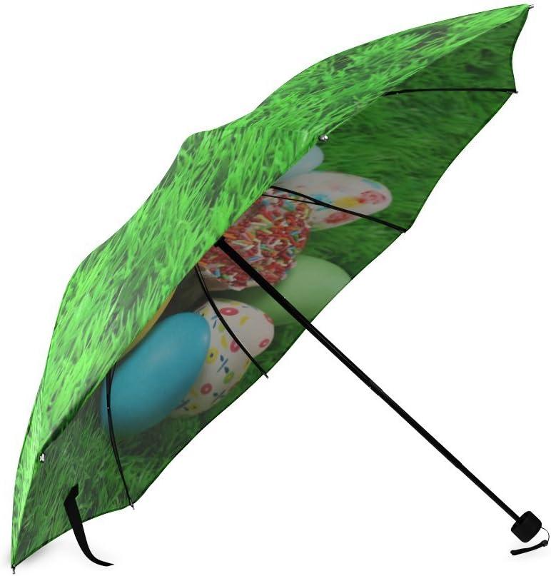 Custom Best Easter Compact Travel Windproof Rainproof Foldable Umbrella