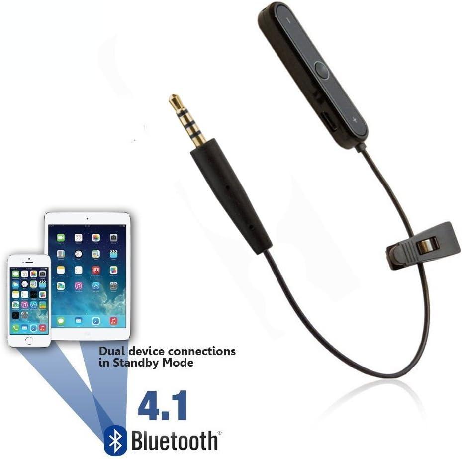 REYTID Wireless Bluetooth Adapter Converter Cable Compatible con AKG Y45BT Y50 Y40 Y55 K845BT K840KL Auriculares