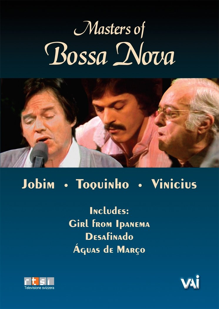 Antonio Carlos Jobim - Masters Of Bossa Nova Jobim,Vinicius, Toquinho (DVD)