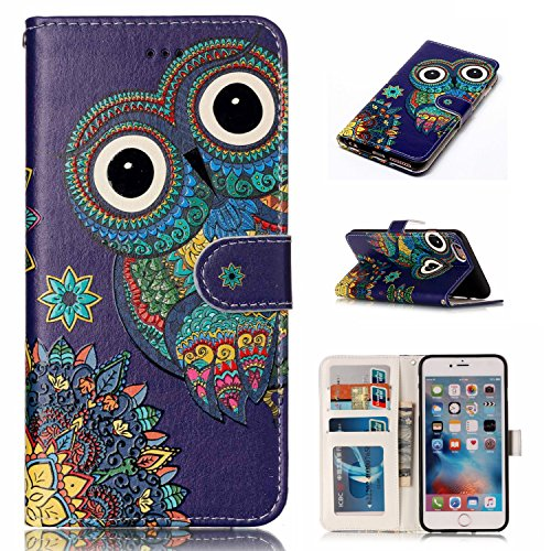 iPhone 6S Case, iPhone 6 Case,Yutty Flip Folio [Card Slots] [Kickstand] Wallet...