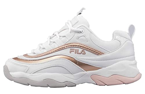 Fila - Ray F Low Wmn - White/Spanish Villa