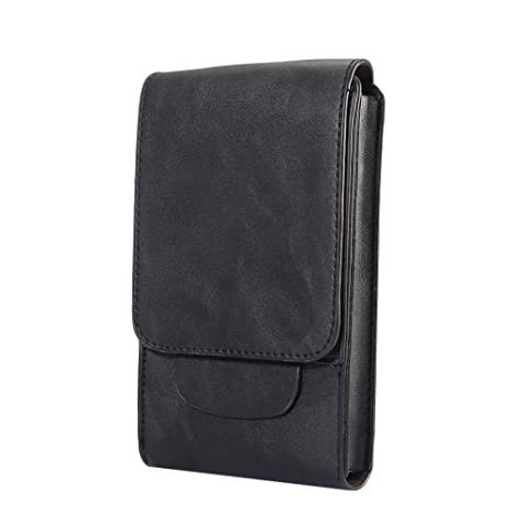 defc7820ec0 SITCO Belt Pouches Waist Pouch Large Leather Mobile Phone Bag Cases  Holster  Amazon.co.uk  Luggage