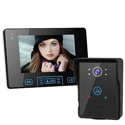 amazon com 2 4g wireless door phone doorbell intercom system hd