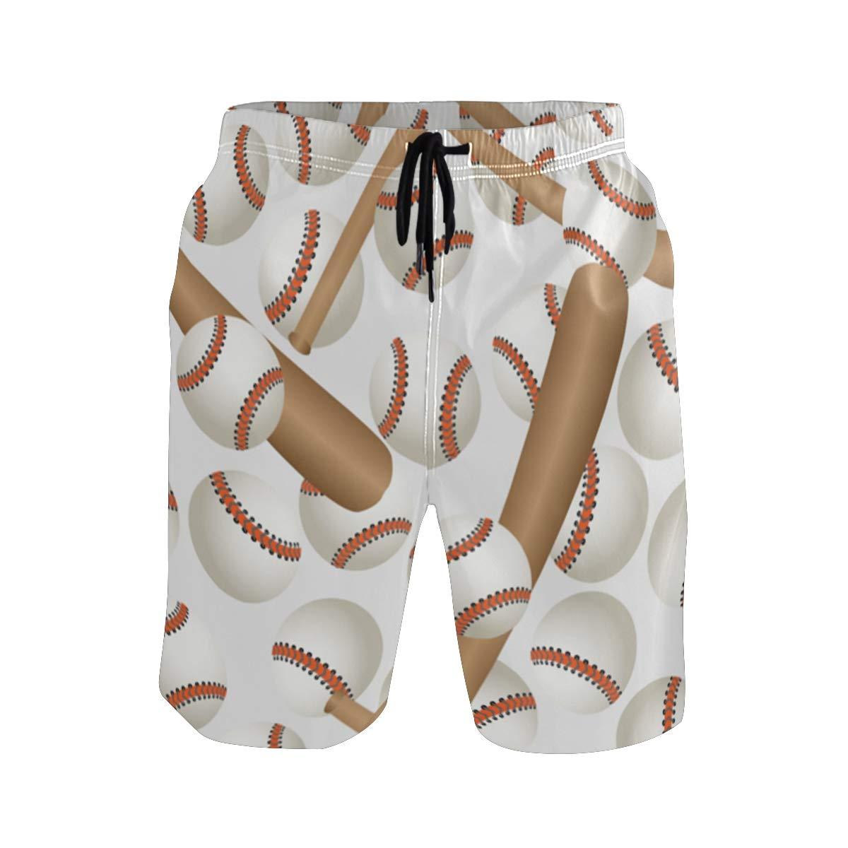 KVMV Baseball Son Blue Quick Dry Beach Shorts