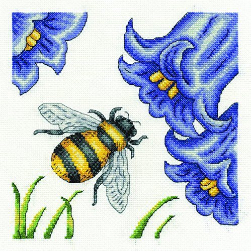 - DMC Bee and Bluebells Cross 8