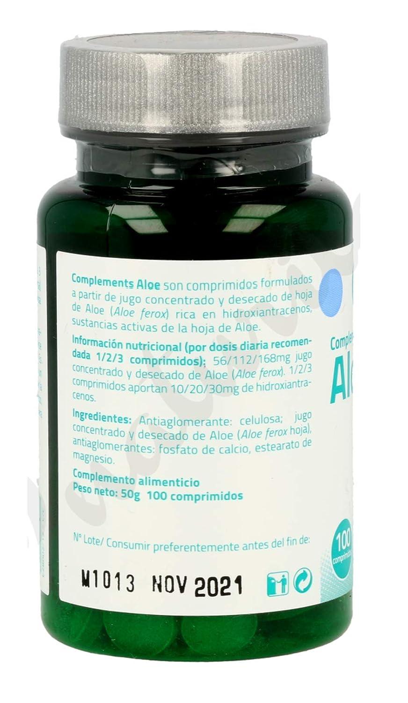 SAKAI Aloe Vera 200 Comprimidos Pack de 2 (100 + 100) regula el tránsito intestinal, efecto détox, limpieza de colon, contra el estreñimiento, ...